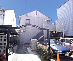 京都府京都市上京区西無車小路町の賃貸アパートの外観