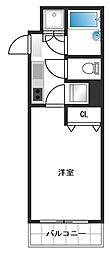 ルーブル新宿西落合II[2階]の間取り