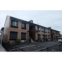 滋賀県野洲市吉地の賃貸アパートの外観