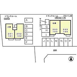 サニーコート・泉台 B[103号室]の外観