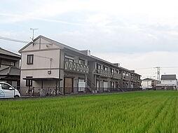 兵庫県姫路市飾磨区構3の賃貸アパートの外観