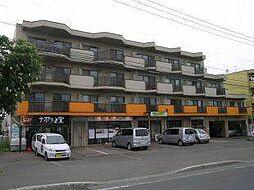 北海道札幌市厚別区大谷地西5丁目の賃貸マンションの外観
