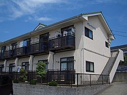 茨城県日立市西成沢町1丁目の賃貸アパートの外観