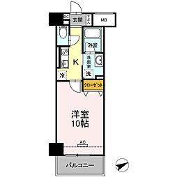 D-Room安島[703号室]の間取り
