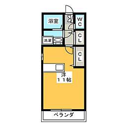 VERDE JUN[2階]の間取り