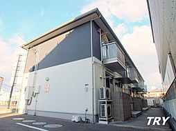 奈良県大和高田市栄町の賃貸アパートの外観