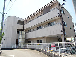大阪府貝塚市福田の賃貸マンションの外観