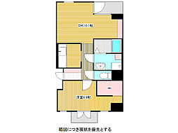 愛知県名古屋市千種区今池南の賃貸マンションの間取り