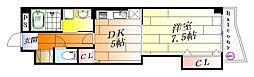 サンリット山本[3階]の間取り