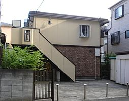 東京都町田市原町田1の賃貸アパートの外観