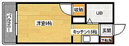 第2祇園Sビル[3階]の間取り