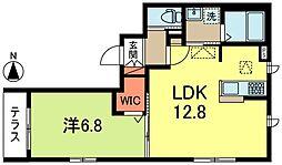 (仮称)高円寺南2丁目Iメゾン[1階]の間取り