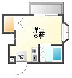 塩屋荘1[1階]の間取り