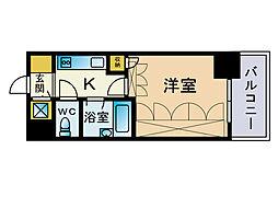 フォルム博多[4階]の間取り