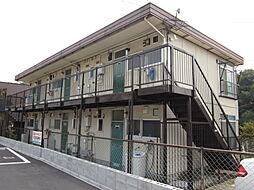 奥山ハイツA棟[202号室]の外観