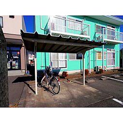 静岡県焼津市八楠の賃貸アパートの外観