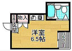 枚方パークアイランド125[4階]の間取り