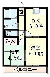 レイクサイド桜宮[3階]の間取り