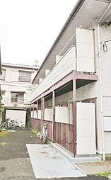 東京都世田谷区奥沢8丁目の賃貸アパートの外観