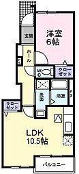 [一戸建] 大阪府堺市南区豊田 の賃貸【/】の間取り