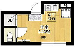 RE東高円寺[106号室]の間取り