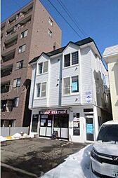 北海道札幌市豊平区平岸一条4丁目の賃貸アパートの外観