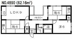 La CASA 阪南町(ラ カーサ 阪南町)[2階]の間取り