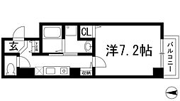 Grace Ishibashi[4階]の間取り