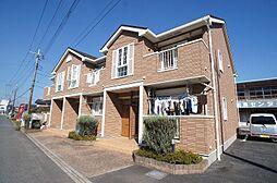 埼玉県日高市大字鹿山字風荒の賃貸アパートの外観