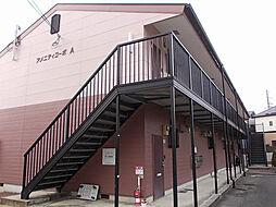 アメニティコーポA棟[2階]の外観