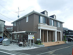愛媛県松山市星岡1丁目の賃貸アパートの外観