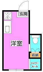 サークルハウス貫井[1階]の間取り