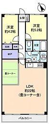 習志野台サンハイツ[4階]の間取り