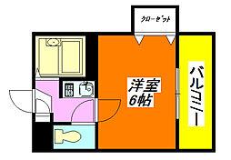 Collection・小阪 202号室[2階]の間取り