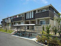 大阪府堺市南区檜尾の賃貸アパートの外観