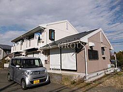 東京都調布市深大寺北町3丁目の賃貸アパートの外観