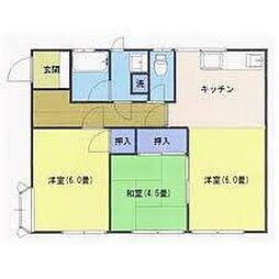 楓ハイツII[2階]の間取り