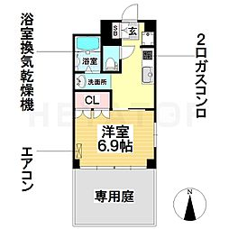 愛知県名古屋市南区堤町2丁目の賃貸マンションの間取り