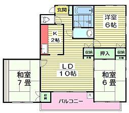 10647[2階]の間取り