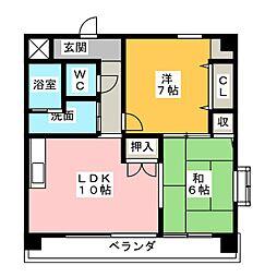 第2サンケイビル[2階]の間取り