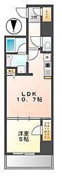 ダイワシティー大須[7階]の間取り