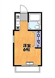 アドレセント21[3階]の間取り