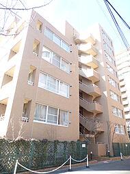 東京都港区高輪2丁目の賃貸マンションの外観