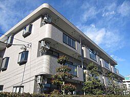 東京都昭島市郷地町2丁目の賃貸マンションの外観