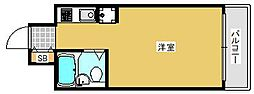 東京都葛飾区奥戸5の賃貸マンションの間取り