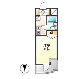 メゾン・ド・レジャンド[3階]の間取り
