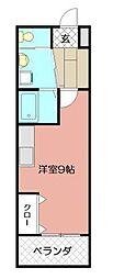 トーマスタワー[1506号室]の間取り