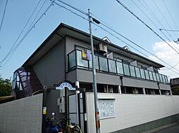 京都府京都市伏見区深草稲荷鳥居前町の賃貸アパートの外観