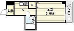 ケルンコトブキ[4階]の間取り