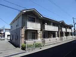 兵庫県加古郡播磨町南大中1丁目の賃貸アパートの外観